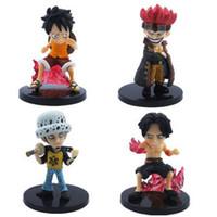 Wholesale Hotsale x Super Cute Anime ONE PIECE Cartoon Figure PVC Toy Gift for Kids to WORLDWIDE