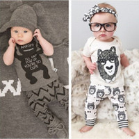 apparel set - 2016 INS Fashion Child Apparel Summer Baby Clothes Baby Boys Clothing Set Carter Kids Sets Monster Children Clothing