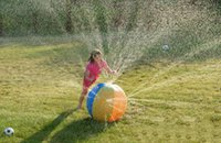 beach ball sprinkler - 2016 Ultimate Beach Ball Baby PVC Inflatable Toy Water Ball Sprinkler Ball Pits For Kids Summer Outdoor Sports bhjmu9up
