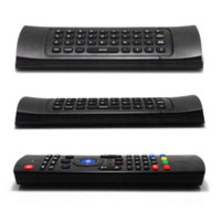 Wholesale 2 G Wireless Remote Control Keyboard Air Mouse for Android TV Box XBMC Smart TV IPTV Networked Set top Box Mini PC controller