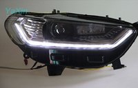 Wholesale High Quality Led DRL Headlight For Ford Mondeo Contour Fusion With Q5 Dual Projector Lens Replacement