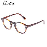 Glass vintage frames - Vintage optical glasses frame oliver peoples ov5186 eyeglasses Gregory peck ov eyeglasses for women and men eyewear myopia frames