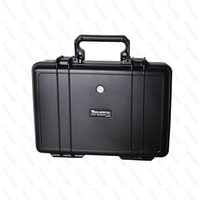 Wholesale 2016 Wonderful ABS Case VS Pelican Waterproof Safe Equipment Instrument Box Moistureproof Locking For Gun Tools Camera Laptop VS Ammo Alumin