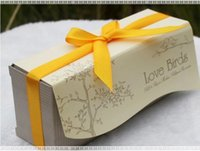 Wholesale boxes newest Love Birds In The Window Ceramic Salt and Pepper Shakers Wedding Favor gifts