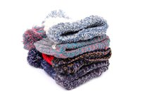 Wholesale brand new women s fashionable winter hat two or three colors keep warm new style different tpyes wear it in three seasons a year