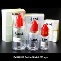 shrink wrap - Heat Clear PVC Shrink wrap film for ml needle dropper Bottles cheaper Shrink sleeve seals for ml ml ml needle bottles Free
