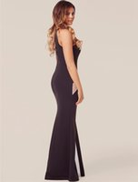 Wholesale African New Arabic Formal Evening Dresses Appliques Sexy Long Prom Party Dress Long Dress