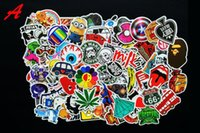 Wholesale 600 mixed decal Car styling Motorcycle bike bicycle stickers for Skateboard Laptop Luggage Snowboard Car Fridge Phone Home decor