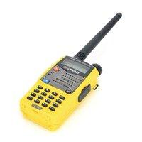 Wholesale Baofeng Walkie Talkie UV RA CTCSS DCS PC Programmable Ham Two Way Radio Yellow