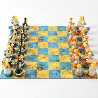 Wholesale Top Quality Cartoon Simpson D PVC Kids children Chess Set Board Game Party Games Children Gift