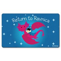 Wholesale Cartoon Return to Ravnica Magic The Gathering Playmat Board Games Playmat MTG Playmat Custom Playmat Print Big Mouspad