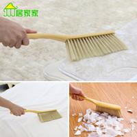 Wholesale Sweep brush long handled wooden sofa carpet cleaning brush dusting brush broom