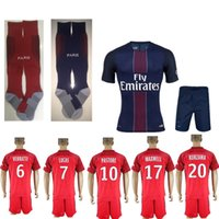 ar m - A quality Paris kit socks Jersey is Germain ver rat TI Ben AR fa DI Maria pastor EPs G home and away Jersey Yes
