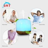 air free purifier - Free DHL V Steam Humidifier Air Purifier Aroma Diffuser Quiet W Essential Oil Diffuser Aromatherapy LED Night Light Color Changing