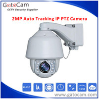Wholesale 20x Zoom MP Outdoor Waterproof Auto Tracking IP PTZ Camera SONY CMOS Outdoor Dome120M IR PTZ Camera