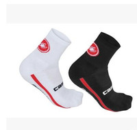 Wholesale 2016 New Brands Unisex black Cycling Socks High elasticity elastic road bike bicycle durable breathable socks