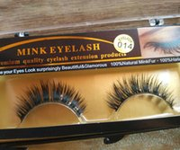 Wholesale Natural Long False Mink Eyelashes Soft Fake Eye Lash Party Makeup Healt Beauty Make Up False Eyelashes
