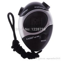 Wholesale ASDOMO Waterproof Second Chronograph Time Stopwatch Sport Counter Digital Odometer T1233 W0