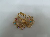 african art colours - Fashion Bridal Jewelry Brooches Rose Gold Tone Clear Rhinestone Colour Crystal Opal Art Swan Tear Drop Heart Love Peacock Brooch Pin