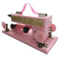 Wholesale Updated Version Female masturbation automatic retractable pumping gun for women thrusting dildo Adjustable speed sex machine TOP84