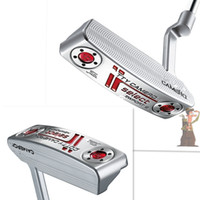 putter - 2016 fashion right handed hot silver golf clubs putter Limited sales golf putter with headcover high quality