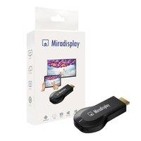Miradisplay WiFi Dongle Display Miracast DLNA Airplay inalámbrico HDMI 1080P TV Vara para Android IOS ayuda del teléfono iOS9 envío gratuito