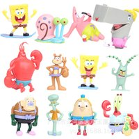 animations octopuses - 2016 set SpongeBob SquarePants animation project model Patrick Octopus brother crab boss doll doll ornaments