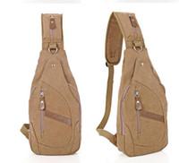 Wholesale Shoulder Handbag Casual Male Bags - 2016 Designer Handbags High Quality Handbag New Fahion Men Messenger Bag Canvas Men's Travel Bags Male Waist Outdoor Crossbody