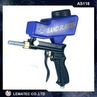 air blaster gun - sets Sandblasting Gun LEMATEC Hand held Portable Air Sandblaster Gravity Feed Sand Blaster for remove rust paint Hot sell tool