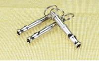 Wholesale 500pcs a Pet Dog Training Adjustable Ultrasonic Sound Whistle Dog Training Tool Cute Training