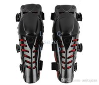 Wholesale 2015 Hot Sale Pairs Motocross Protector Motorcycle Motorbike Racing Knee Pads Guard Protective Gear Black Red TK0760