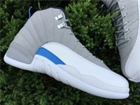 Wholesale 2016 Retro XII Basketball Shoes Wings Sneakers Sports Men Shoes Cheap Retro s PSNY The Master French Blue Boots Eur