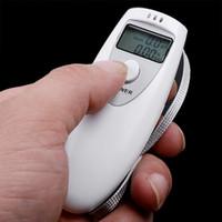 Wholesale eychain acrylic Digital Alcohol Breath Tester Analyzer Breathalyzer Alcohol Breath Tester Analyzer Keychain Breathalyzer ke