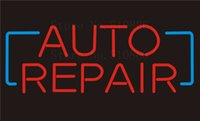 auto repair shop sign lighted - Custom NEON Sign Board Auto Repair Car vehicle Glass Tube Beer Bar Club Display Store Shop Light Signboard Signage Signs quot