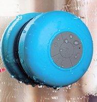 Headbands South American Women's Portable Waterproof Wireless Bluetooth Speaker mini Suction IPX4 speakers Shower Car Handsfree Receive Call & Music Phone Multicolor E048