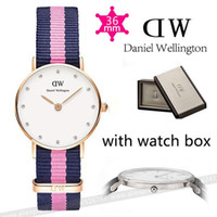 diamante buckles - Luxury DW Watches mm Relojes Mujer Women Daniel Wellington Watches Diamante Rhinestone Quartz Watch Clock relogio feminino Watch Box