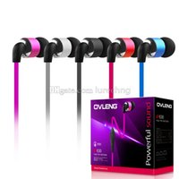 applying siding - OVLENG IP630 Earphone In Ear Metallic Cover mm Jack m Double sided soft Noodle line Stereo HIFI Music for all Smartphone Android Apply