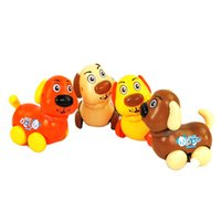 Wholesale Wind up Clockwork DOG Toy Baby Children Party Birthday GIFT Kids A00056