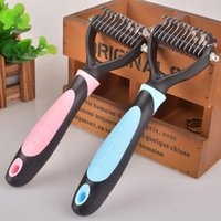 abs trimmers - Large Dog ABS Material Stainless Steel Cutter Blade Hair Comb Pets Grooming Clippers with Brades