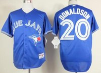 Wholesale 2016 New Cheap Josh Donaldson Jerseys Toronto Blue Jays Baseball Jerseys Blue Red Gray Josh Donaldson Cool Base Stitched Jersey
