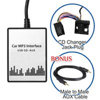 Wholesale Car CD Digital USB SD MP3 Aux mm Interface Audio In Adapter For BMW X3 X5 Z4 Z8