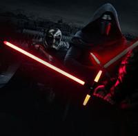 Wholesale 105cm Star Wars The Force Awakens Kylo Ren Lightsaber LED Light sound Light saber Darth Vader Figure Toys Children s Day Gift