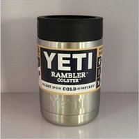 Wholesale YETI Tumbler Cups oz Yeti Rambler Cooler Vacuum Insulated Vehicle Travel Tea Coffee Beer Mugs Cups Stainless Steel Cups Bottle Cup