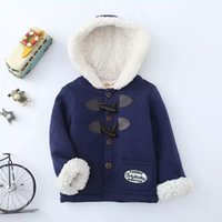 Wholesale Korea clothes autumn winter new style Korean kids blast Korean version of the cashmere coat