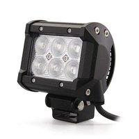 Wholesale 2pcs quot inch W Cree LED Work Light Bar Lamp for Motorcycle Tractor Boat Off Road WD x4 Truck SUV ATV v v