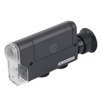 Wholesale Pocket Microscope X Lighted Portable Magnifier LED UV Light Handheld