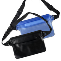 best camera waist pack - 22 cm PVC Waterproof Pouch waterproof waist pack bag Best Dry Bag for Camera CellPhone MP3 MP4 iPhone s Plus Samsung Galaxy S6 E DHL