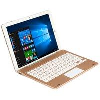 Wholesale Original Russian English Gold Gray Slim Rotating Shaft Stand Docking Keyboard For Chuwi Hi12 Windows10 Tablet PC inch