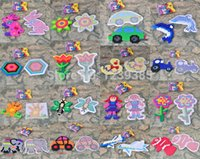 Wholesale SETS EVA Perler Hama Bead Animals fruits vehicles Material package set board Iron Paper TWEEZ bag perler beads drawing
