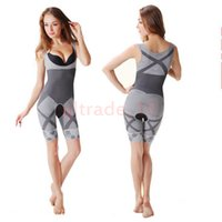 bamboo slimming shapers - 50PCS HHA821 Bamboo Fiber Magic Slimming Underwear Shapers Underwear Women Bamboo Slimming BodyShaper Plus Size Waist Training Corset